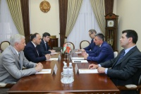 Meeting with the President of Pridnestrovie Vadim Krasnoselsky