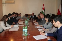 On the meeting with the heads of international non-governmental organizations