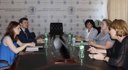 On the meeting with representatives of the United Nations Development Program (UNDP)