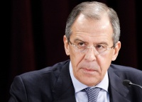 Daur Kove sent a congratulatory note to Sergey Lavrov on the occasion of the of the Diplomat's day