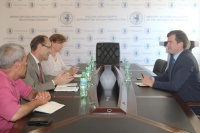 On the meeting with representatives of UN-Women and UNHCR
